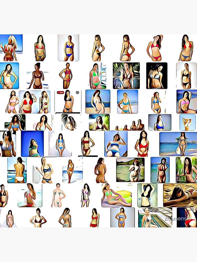 Bikini Women, Collage by znamenski