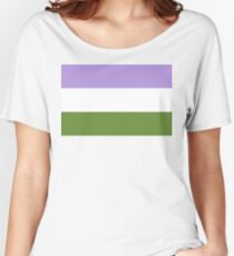 Genderqueer pride Women's Relaxed Fit T-Shirt