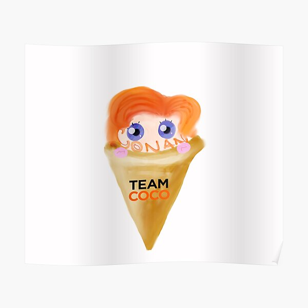 Ice Cream CONAN Poster