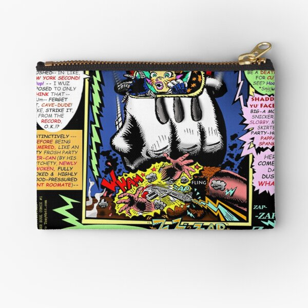 "Brother Soul Comix! - ""Tabby's Terror Trip!"" -[page/print SNEAK PREVIEW] Page #26 Zipper Pouch"