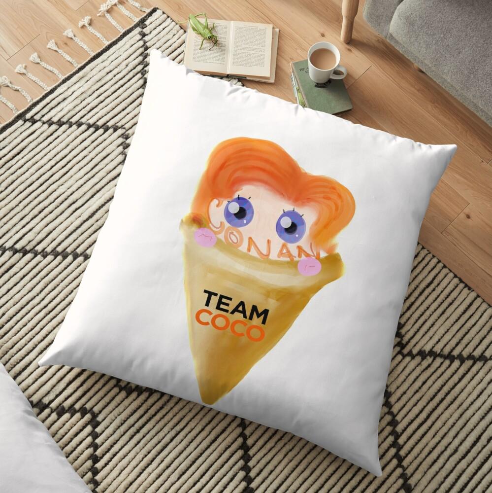Ice Cream CONAN Floor Pillow