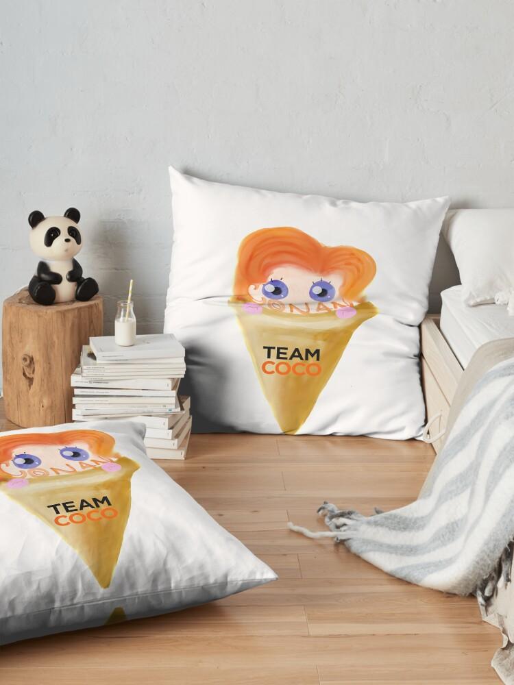 Alternate view of Ice Cream CONAN Floor Pillow