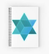 Metatron star Spiral Notebook