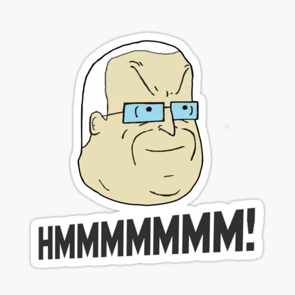 HMMMMM! Mike Nolan Big Lez Show Sticker