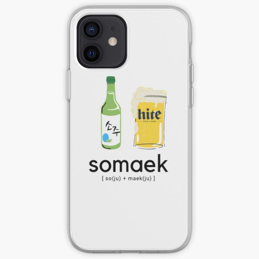 Somaek: Soju et bière   Coque iPhone