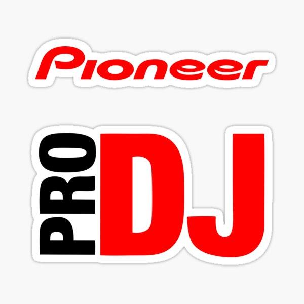Pioneer Dj Pro Pegatina