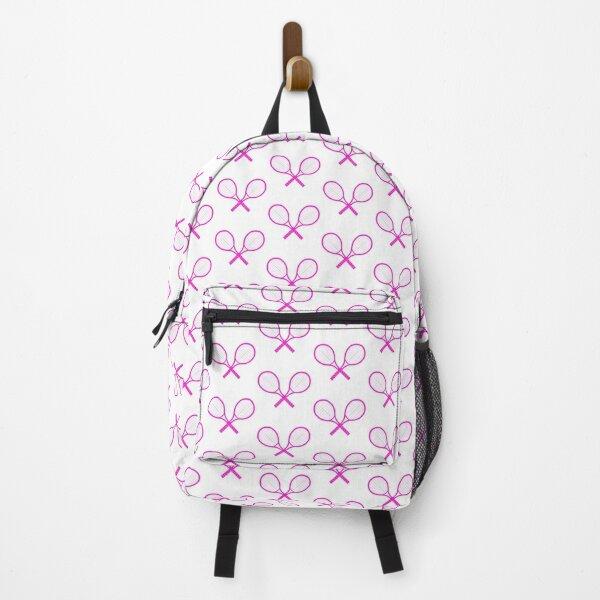 Crossed Tennis Rackets  Backpack