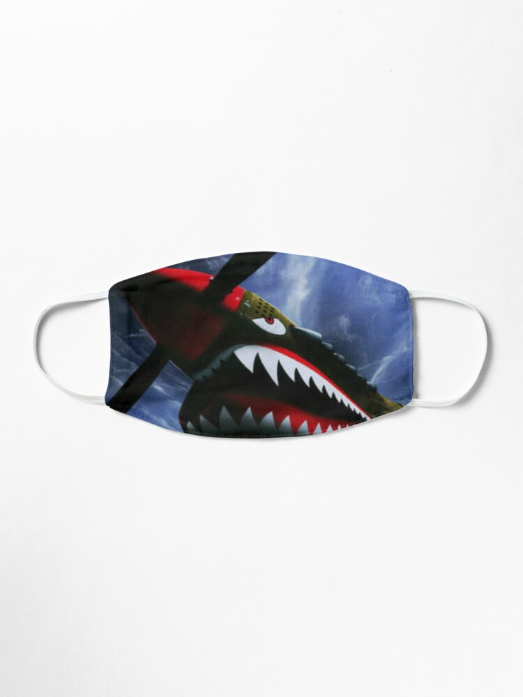 Alternate view of The Curtiss P-40 Warhawk Plane-American Fighter Aircraft Mask