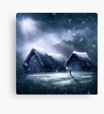 Going Home for Christmas Canvas Print