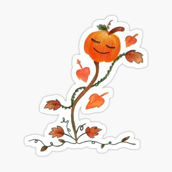 Sassy Pumpkin Sticker