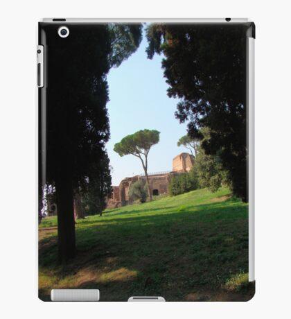 Looking Under the Umbrella Tree iPad Case/Skin