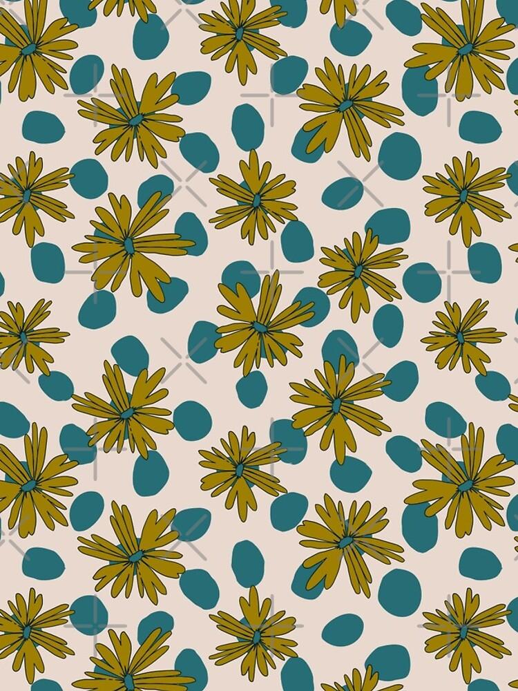 Daisy Dots by emeraldlane