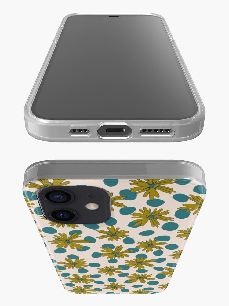 Alternate view of Daisy Dots iPhone Case