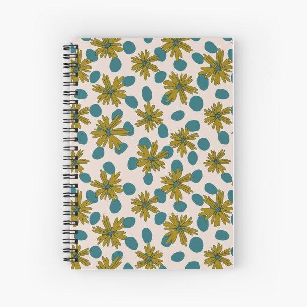 Daisy Dots Spiral Notebook