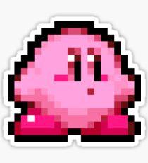8-bit Kirby Sticker
