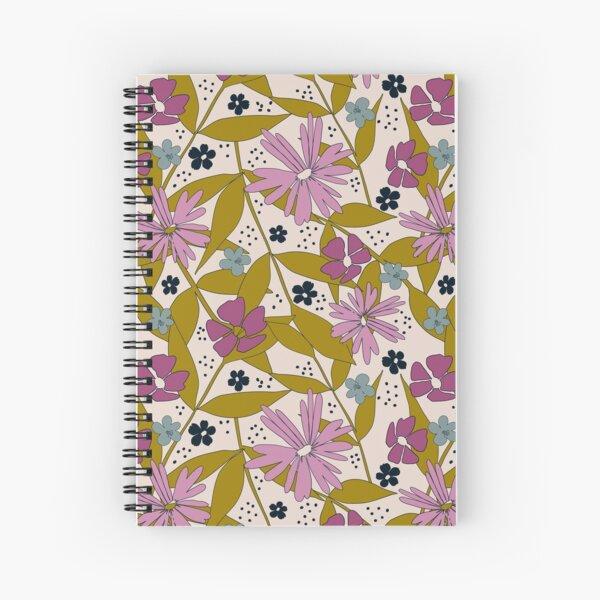 Wildflower Power Spiral Notebook