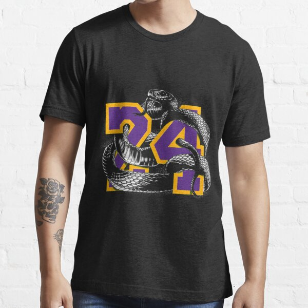T-shirt Serpent Kobe 24 Serpent Mamba 24 T-shirt essentiel