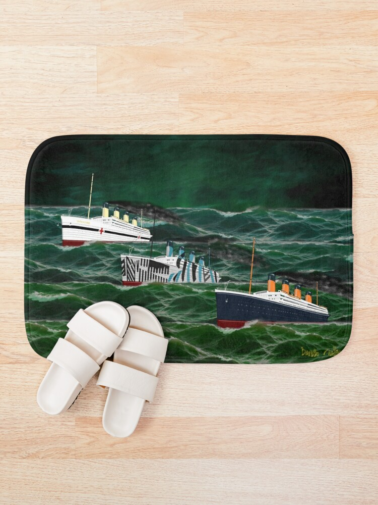 Alternate view of The 3 Giant Sisters Sailing Together Bath Mat