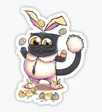 The Easter Kitty Sticker