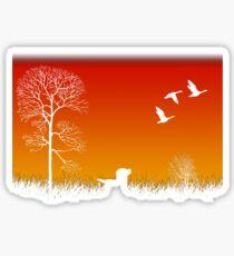 Real Duck Hunt Sticker