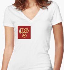 RG3 Women's Fitted V-Neck T-Shirt
