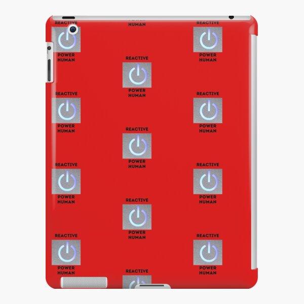 reactive power human iPad Snap Case