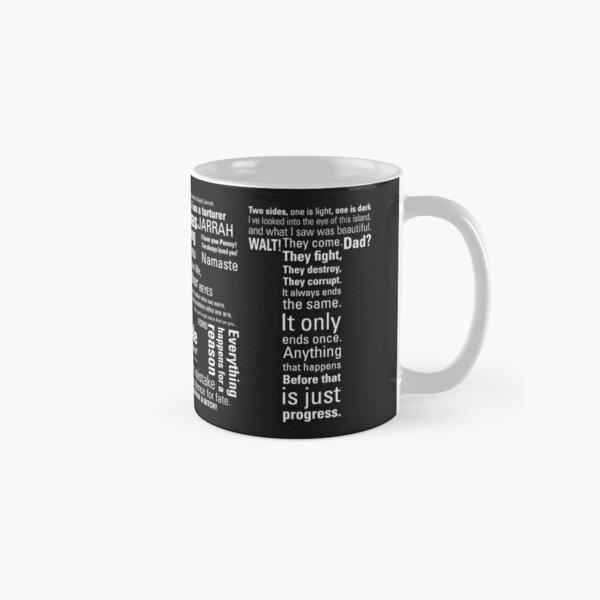 LOST Quotes // Classic Drama Tv Show, Sci-Fi, Geek Classic Mug