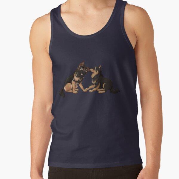 Two Wild Shepherds  Tank Top