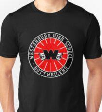 Westerburg High School Rottweilers Camiseta ajustada