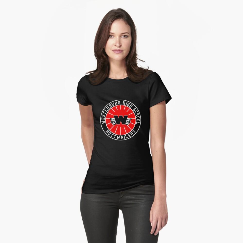 Westerburg High School Rottweilers Camiseta entallada