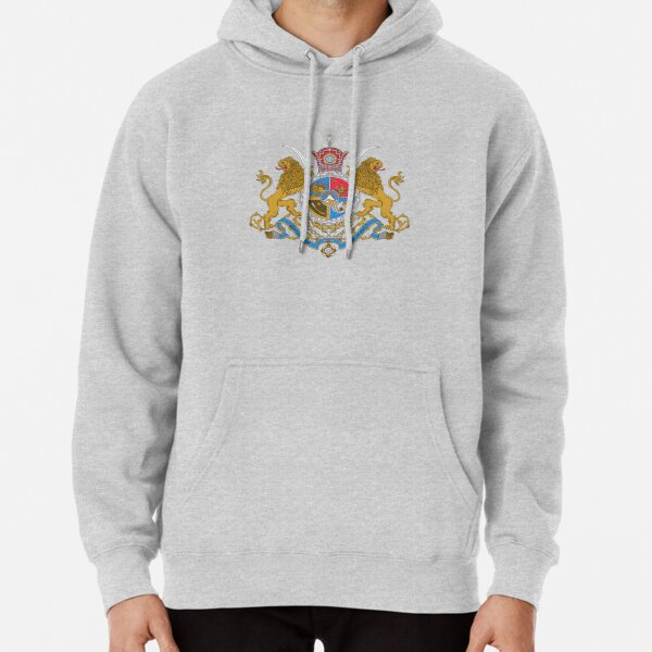 Sovereign Coat of Arms of Iran (Order of Pahlavi), 1932-1979 Pullover Hoodie
