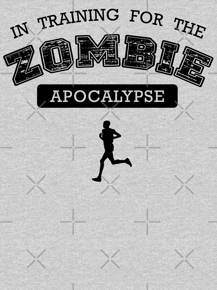 Training for the zombie apocalypse by teesandlove