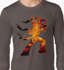 Mega Blaziken used Blast Burn Long Sleeve T-Shirt