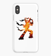 Mega Blaziken used Blast Burn iPhone Case/Skin