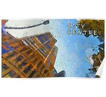 City centre Poster