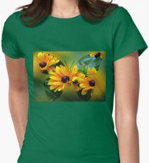 Flutterby Fun Women's Fitted T-Shirt