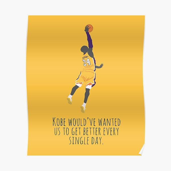 Motivation de Kobe Poster