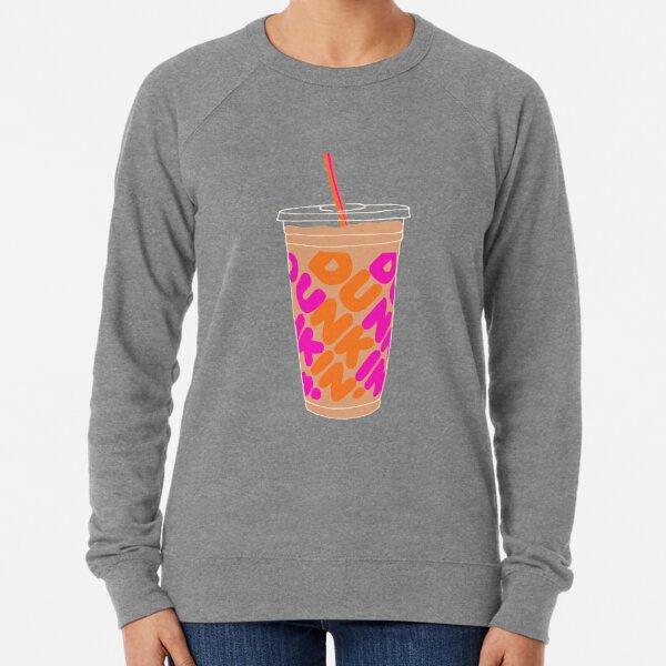 dunkin iced coffee Lightweight Sweatshirt