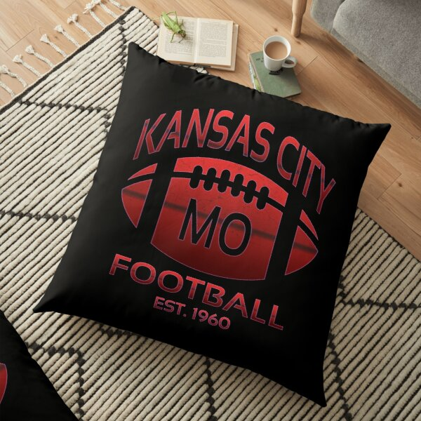 Kansas City Football Floor Pillow