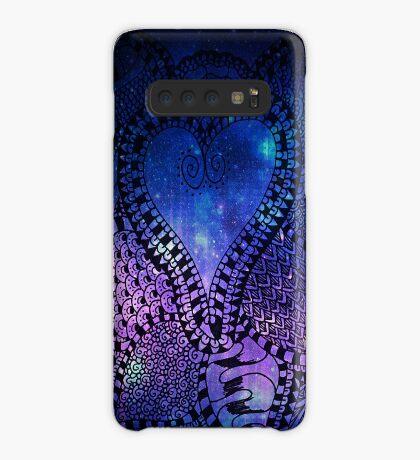 Heart Patterns Case/Skin for Samsung Galaxy