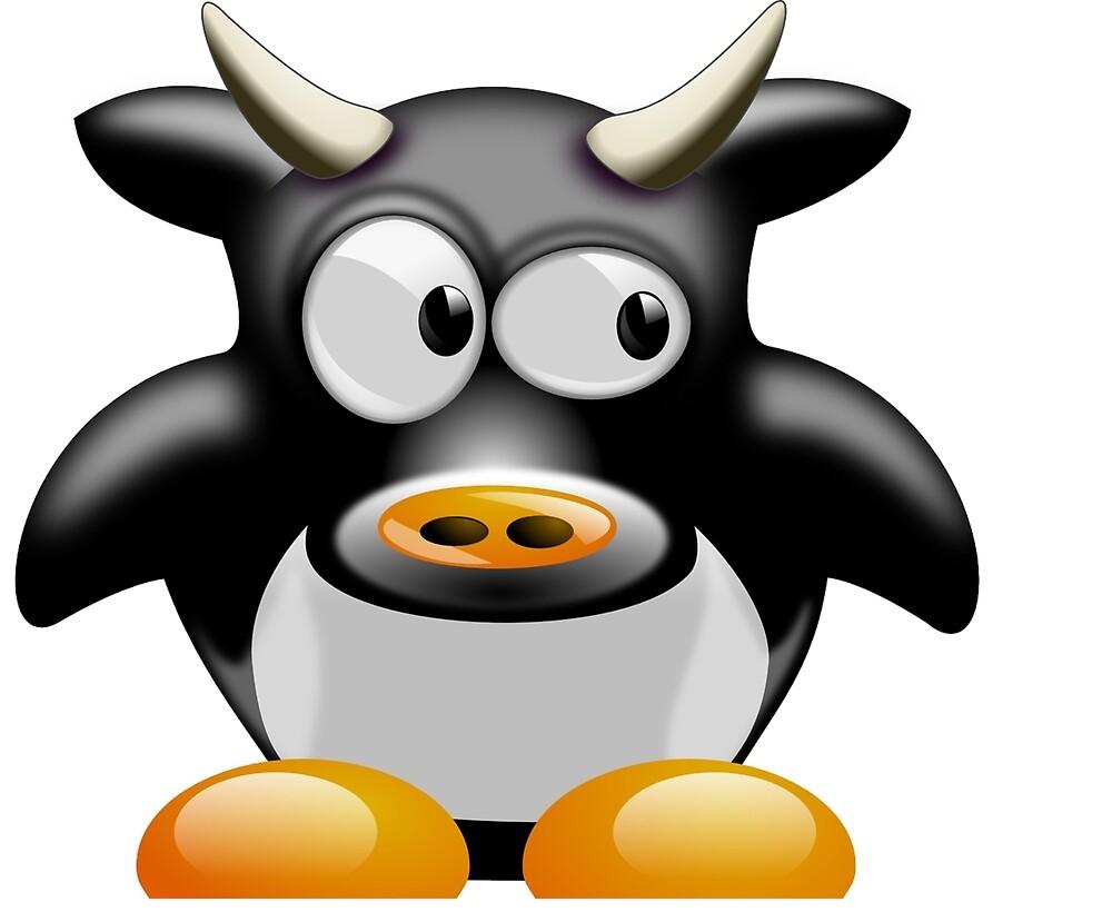 Cow work 1 by akmanm