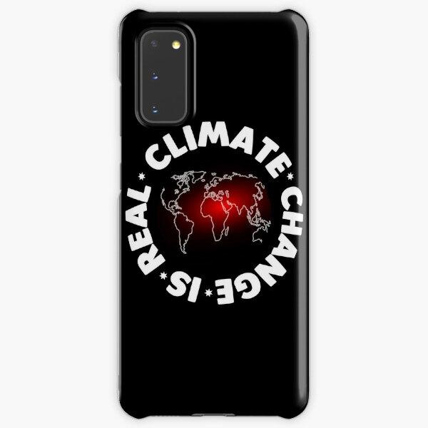 Der Klimawandel ist ein echtes Hemd Samsung Galaxy Leichte Hülle