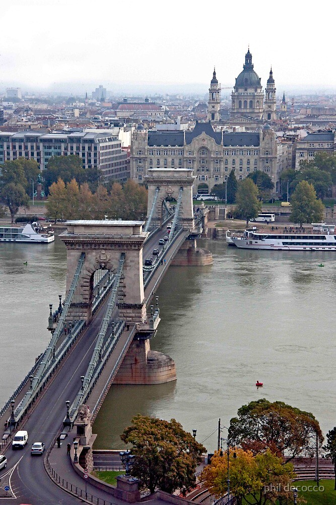 Pest From Buda by phil decocco