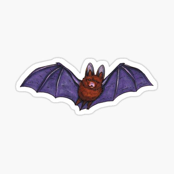 Flying Cute Bat Sticker