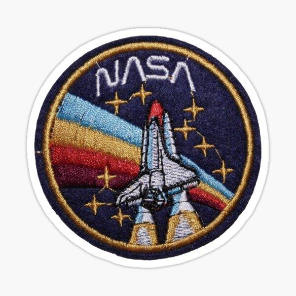 Retro Nasa Space Shuttle Sticker