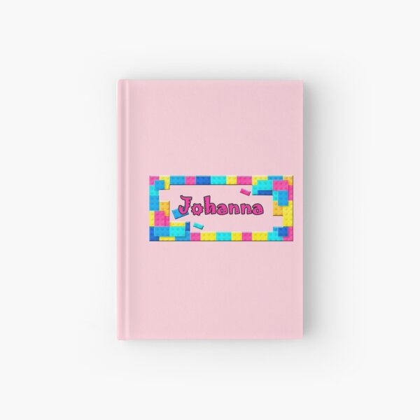 Toy Brick Frame Design For Johanna Hardcover Journal