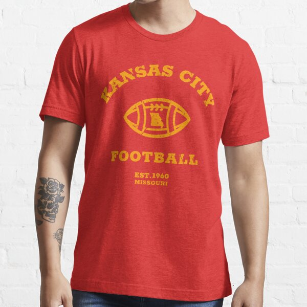 Kansas City 2020 | Vintage KC Football Missouri Retro Gift T-Shirt Essential T-Shirt