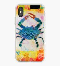 Blue Crab No. 2 iPhone Case