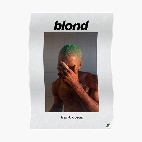 "Frank Ocean ""Blonde"" A3 size extended album Poster"