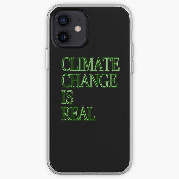 Der Klimawandel ist ein echtes Hemd iPhone Flexible Hülle